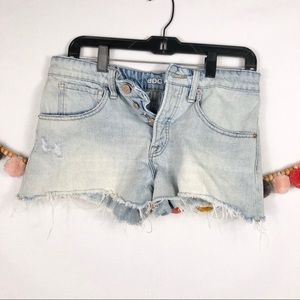 {UO BDG} Distressed Cut Off Shorts